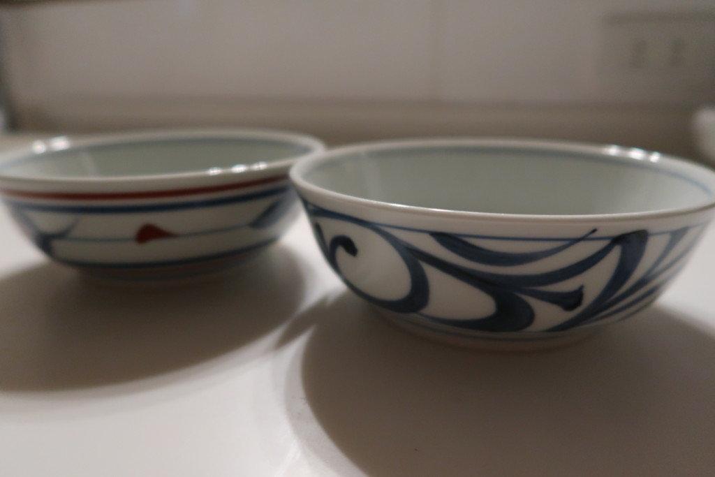 砥部焼の中鉢2枚