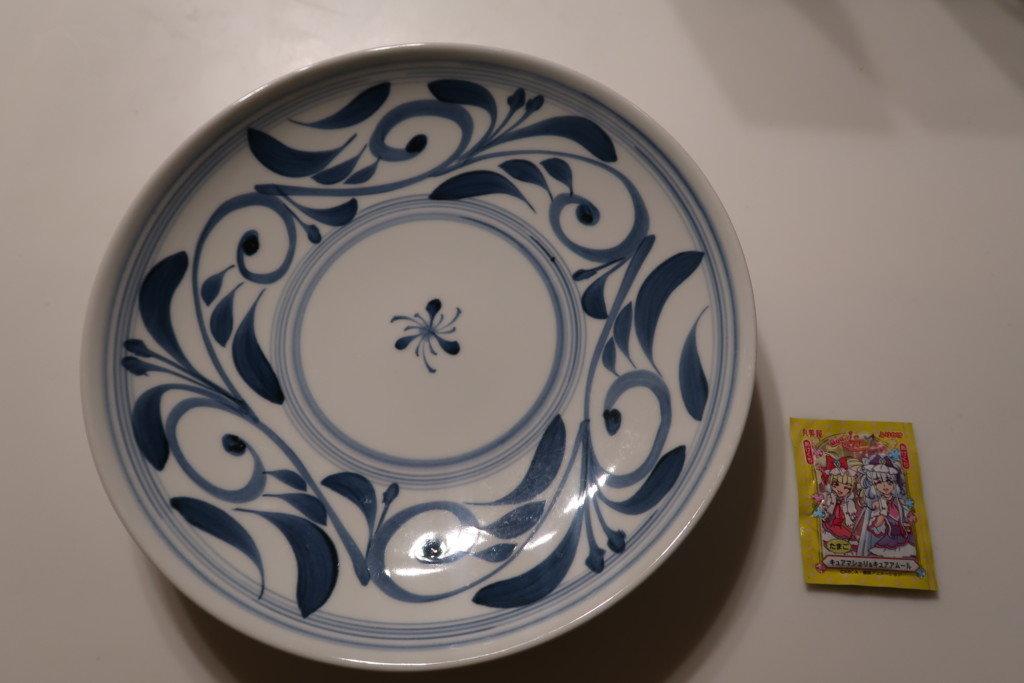 砥部焼の大皿1枚