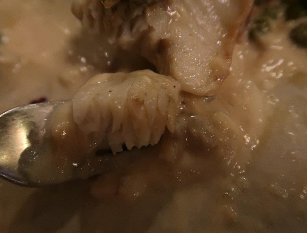 アミティエ(松山)クリスマスディナーの白身魚のムニエルディアボロ風