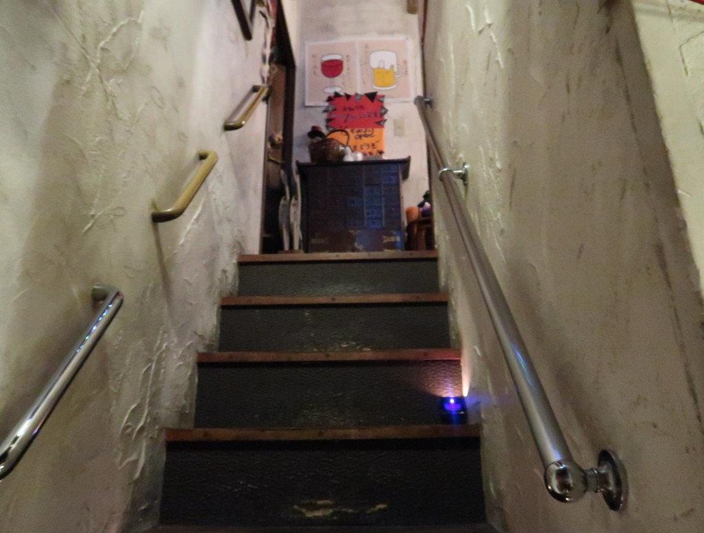 アミティエ(松山)の階段