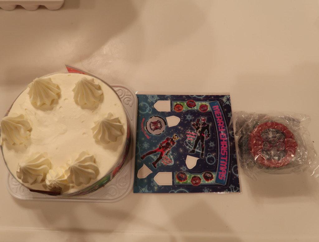 キャラデコクリスマスケーキの付属品