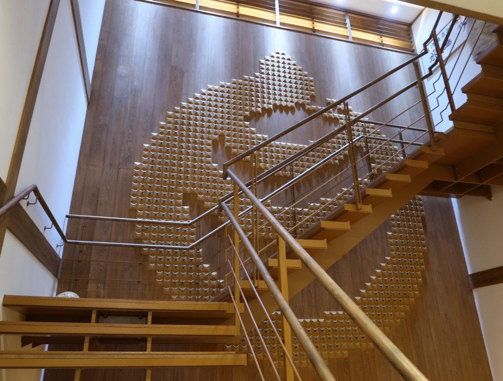 飛鳥乃湯の2階への階段
