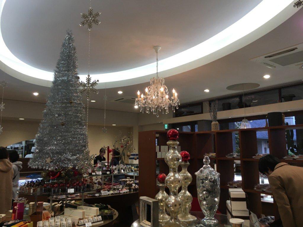 ラブランシュ,クリスマスシーズンの店内