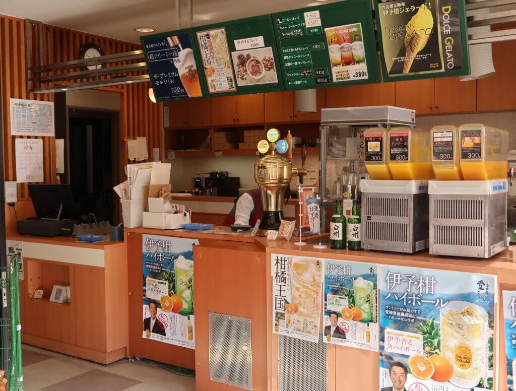 33.8° GOOD CACAO(松山市道後)の横のカフェ