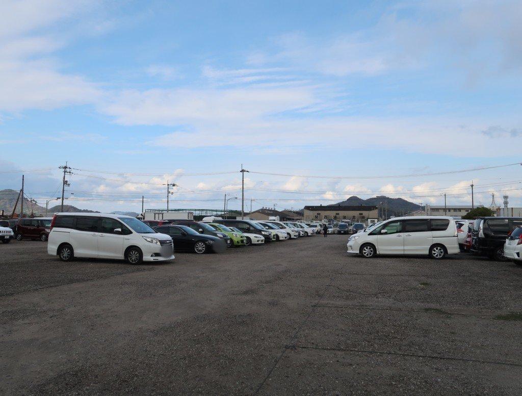 トミカ博in愛媛の無料駐車場