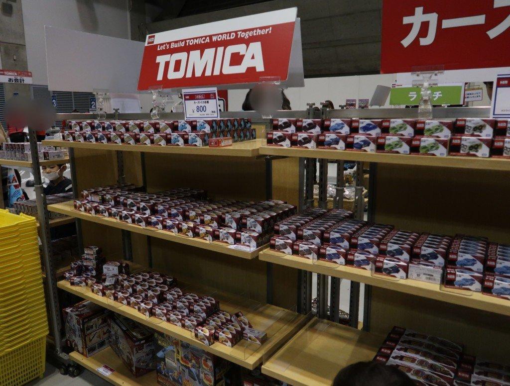 トミカ博in愛媛(2019)のトミカマーケット