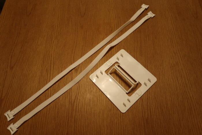 アフタヌーンティー3段ランチボックスのベルトと付属品