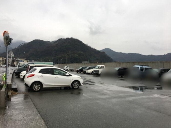 三崎港の無料駐車場