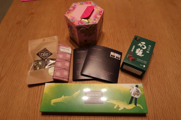 いよてつ高島屋,アムールドショコラ(2019年)で購入したバレンタインチョコレート6種