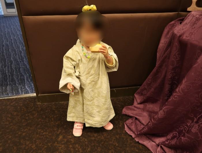 ホテル&リゾーツ別府湾の子供用の浴衣