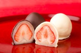 夢菓房たからのチョコいちご大福とホワイトチョコいちご大福