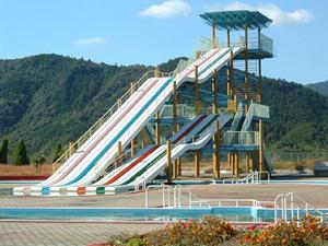 大洲運動総合公園のプール