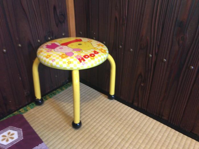 もく兵衛(宇和島)の子供用椅子