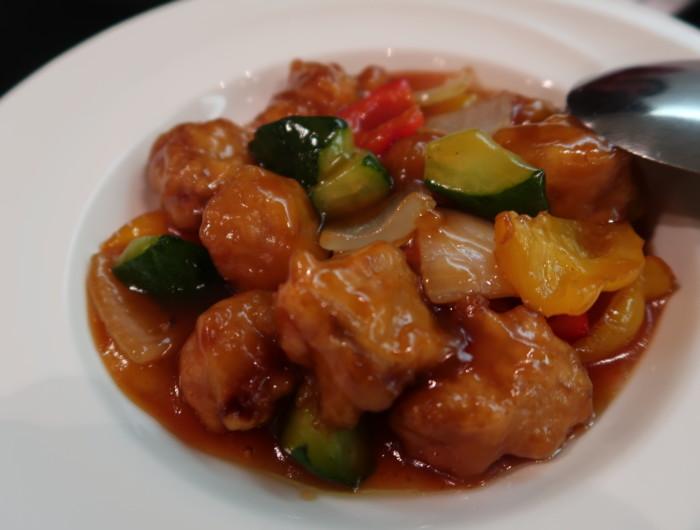 ホテル&リゾーツ別府湾,中華料理海鳳の酢豚