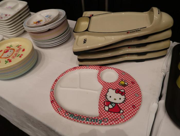 ホテル&リゾーツ別府湾,朝食バイキングの子供用食器