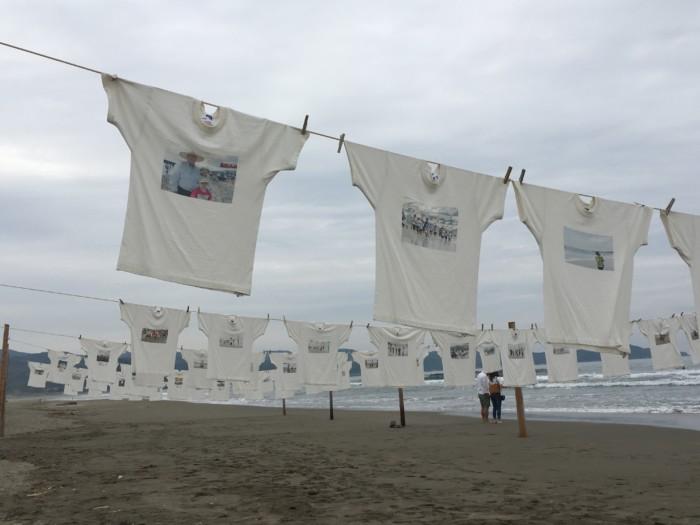 高知Tシャツアート展で展示されているTシャツ