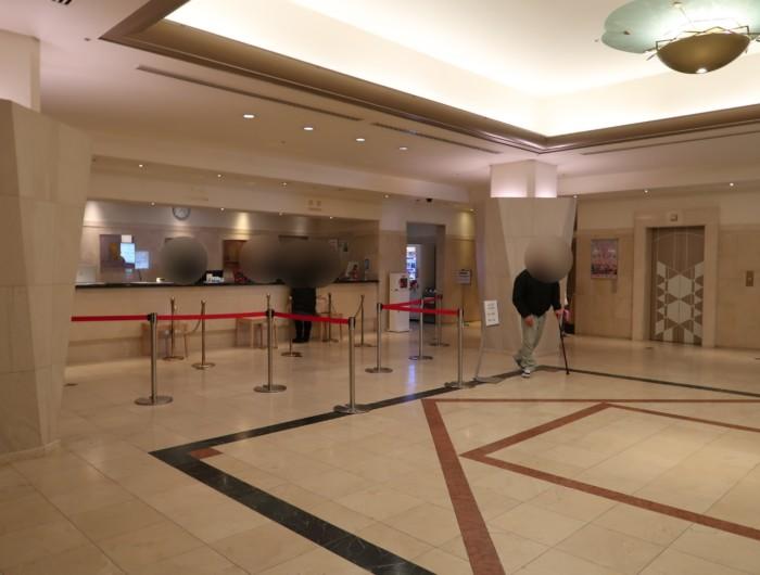 亀の井ホテル(別府)のロビー