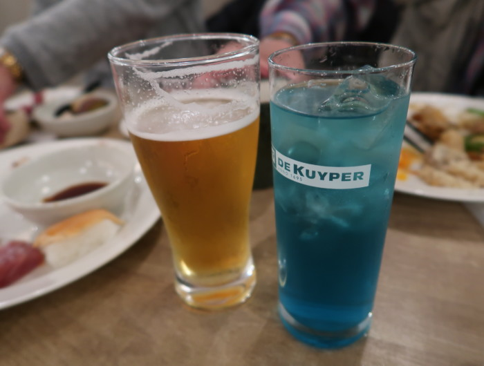 亀の井ホテルバイキング『別府ボールドキッチン』のビールとカクテル