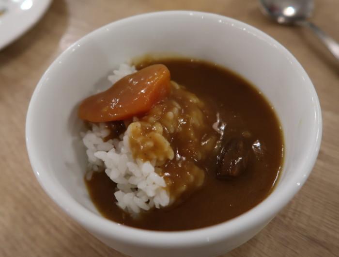亀の井ホテルバイキング『別府ボールドキッチン』夕食のカレーライス
