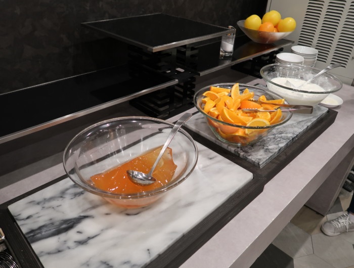 亀の井ホテルバイキング『別府ボールドキッチン』朝食のデザート