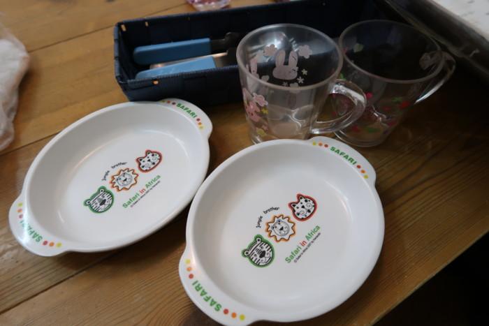 子やぎのさんぽの子供用食器