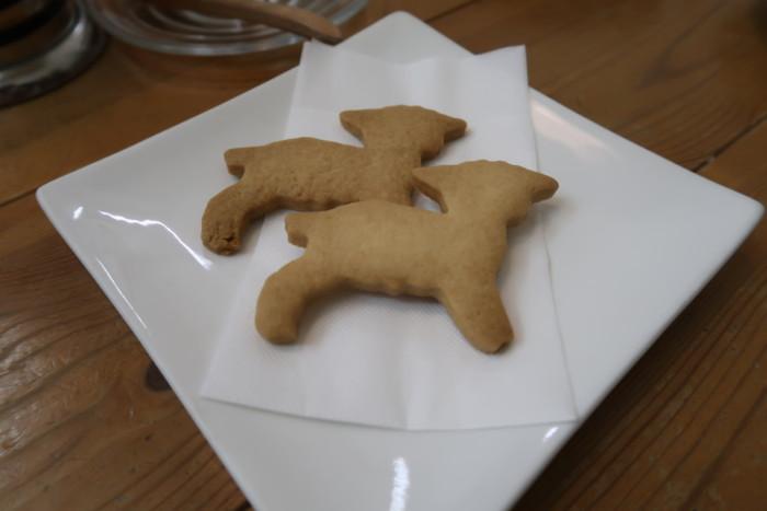 子やぎのさんぽのサービスのクッキー