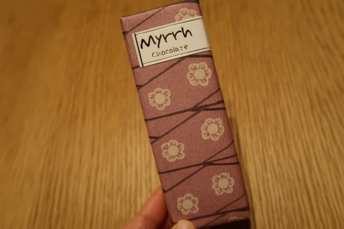 ミルラ(Myrrh)チョコレート(塩キャラメル)
