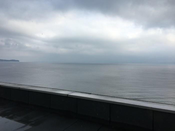 ホテル&リゾーツ別府湾の客室内から見える海の景色