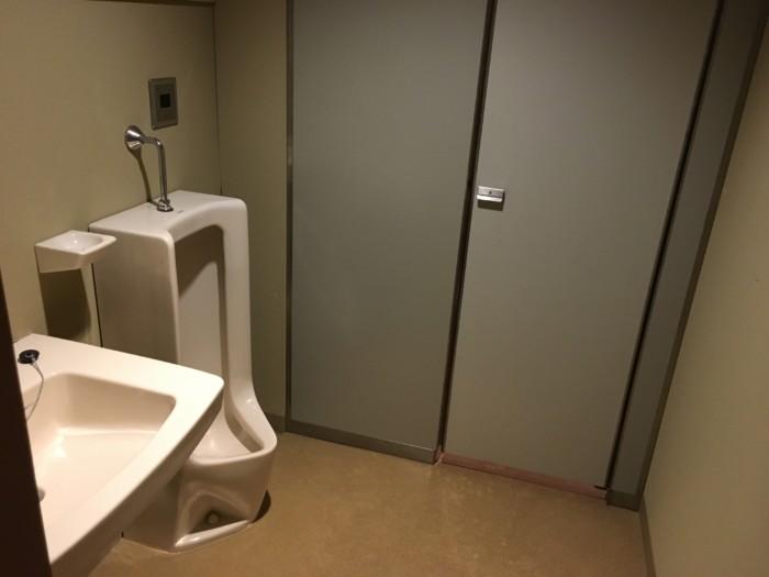 ホテル&リゾーツ別府湾の客室内のトイレ