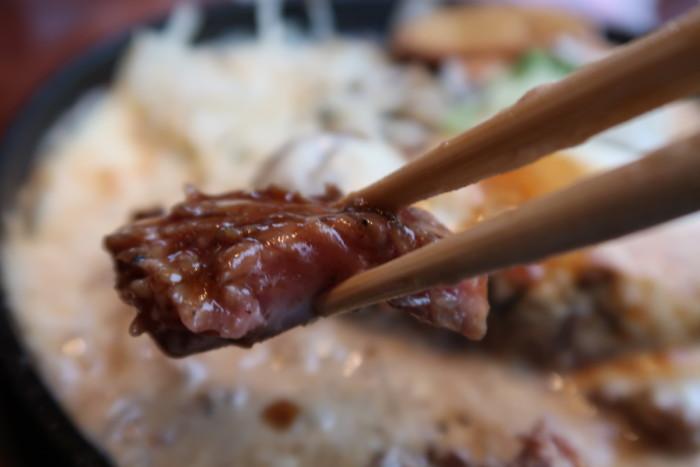 俵屋(今治)の熟成肉ステーキの焼き加減