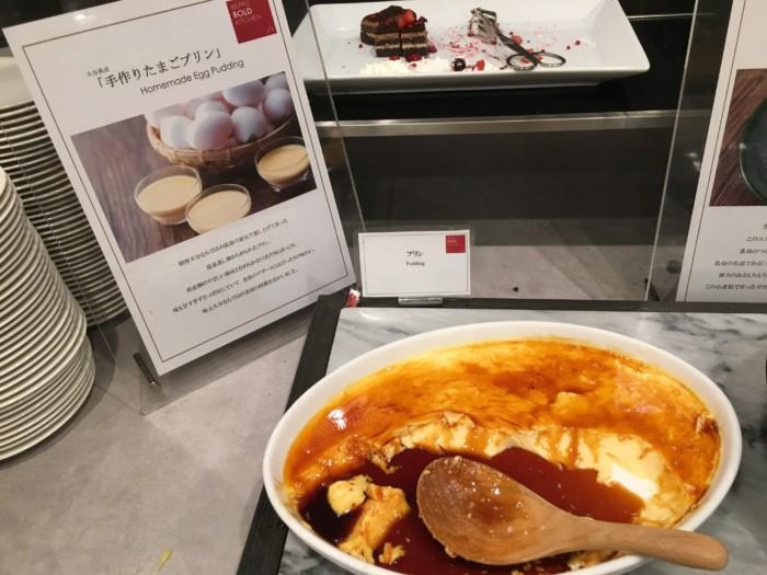 亀の井ホテルバイキング『別府ボールドキッチン』の焼きプリン