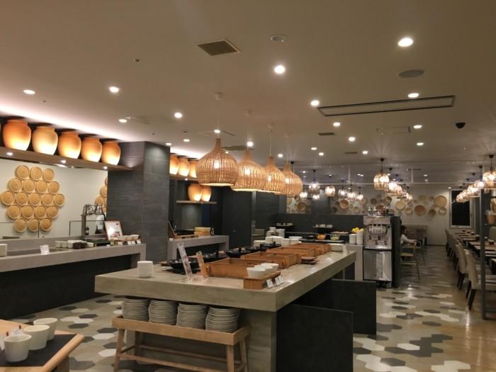 亀の井ホテルバイキング『別府ボールドキッチン』の店内の様子