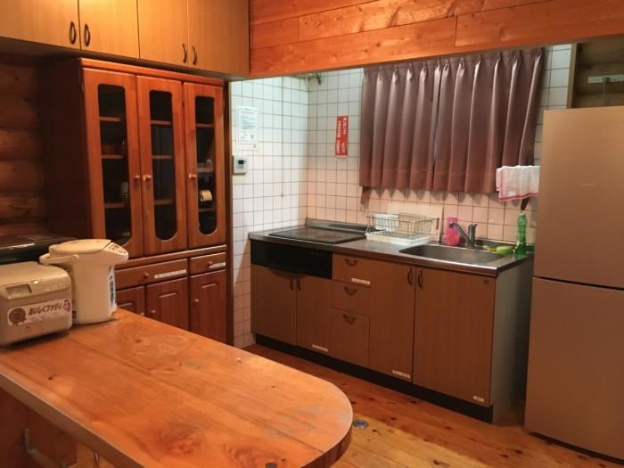 きゃんぱ(明浜)のケビン,1階のキッチン