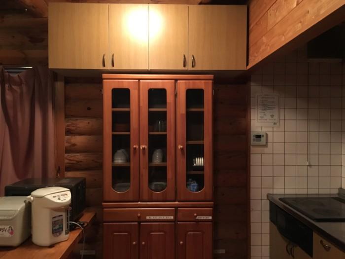 きゃんぱ(明浜)のケビン,1階キッチンの様子