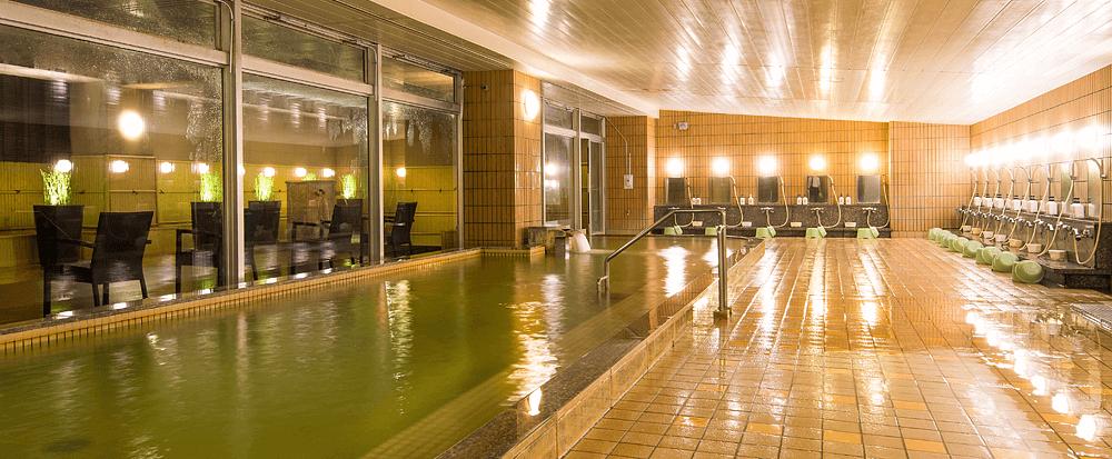 亀の井ホテルの温泉の画像
