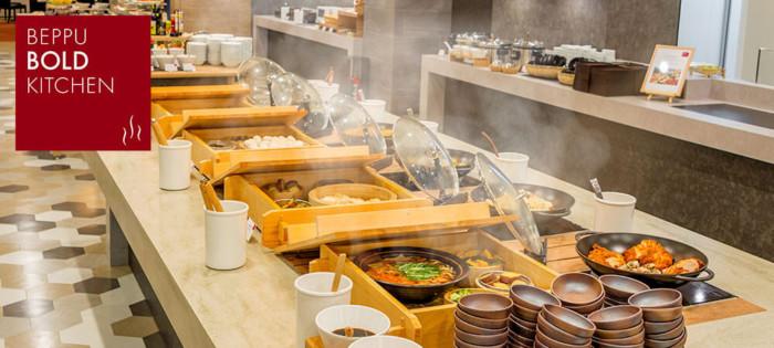 亀の井ホテルのバイキング『別府ボールドキッチン』のイメージ画像