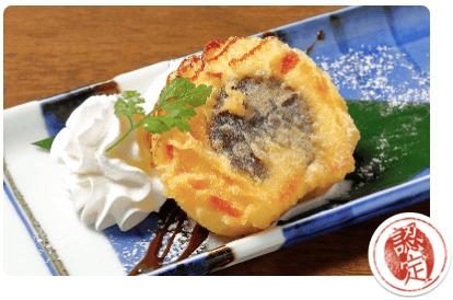 媛 今治焼き鳥の旅のタルト天ぷら