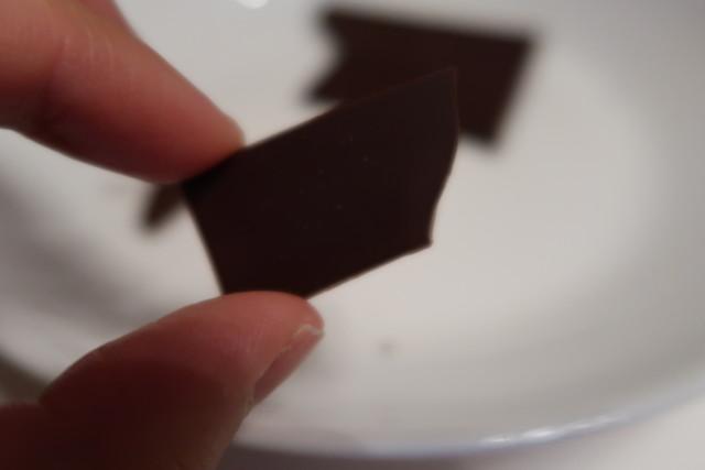 キリヤマベースのチョコレート