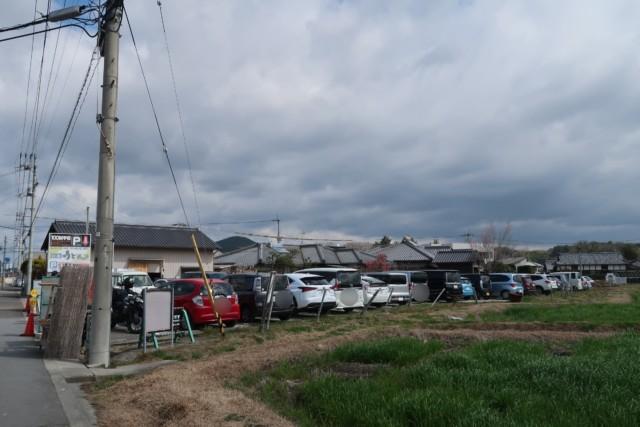 山越うどん(香川)の駐車場