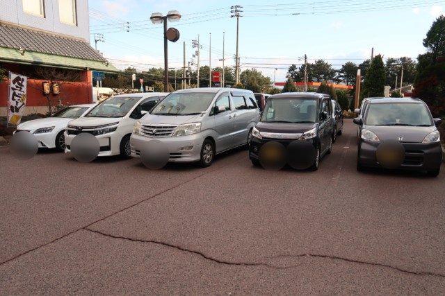 坂出グランドホテルの駐車場