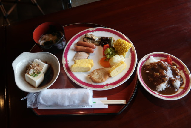 坂出グランドホテル,バイキングの料理