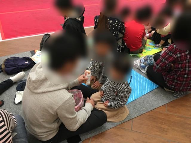 ヒーローショー(エミフルMASAKI)の座席