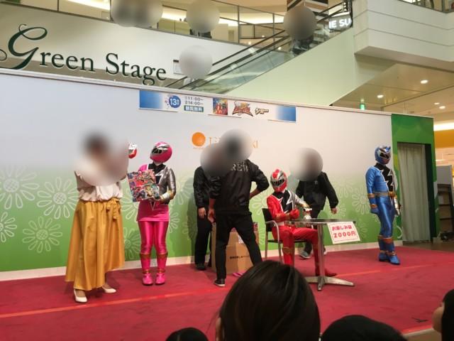 ヒーローショー(エミフルMASAKI)のおたのしみ袋販売会