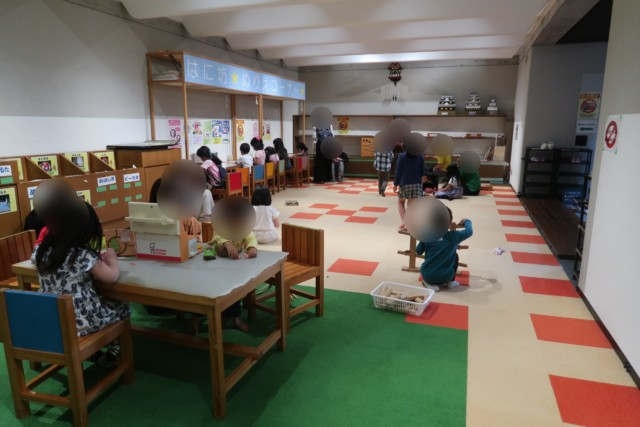 愛媛歴史博物館の体験学習コーナー