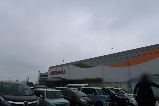 イオンモール今治新都市の駐車場