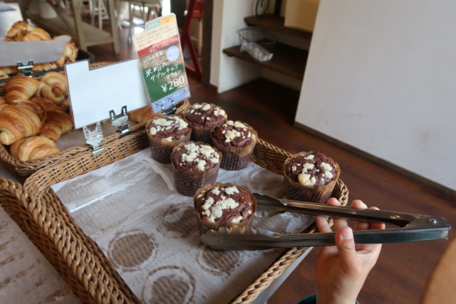 sola(松山)のチョコレートマフィン