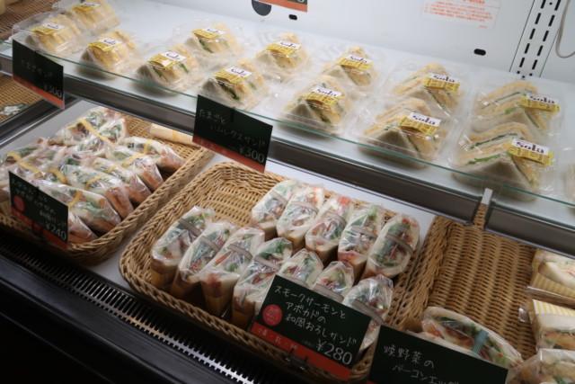 sola(松山)のサンドイッチ