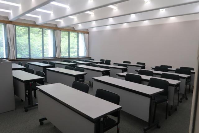 愛媛県歴史博物館の多目的室・研修室