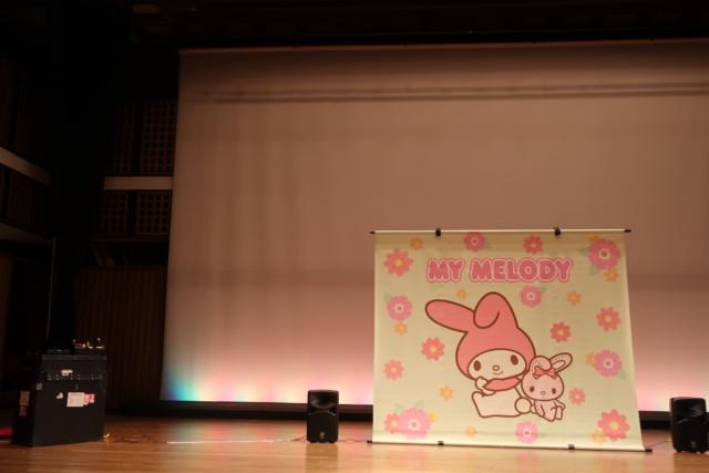 愛媛歴史博物館のマイメロショーの様子