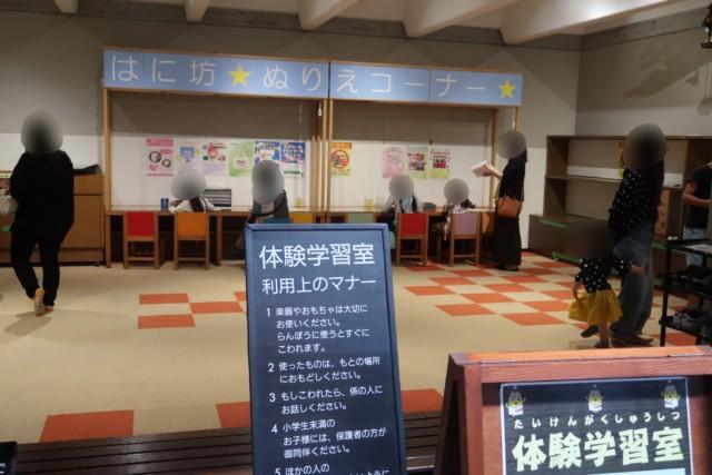 愛媛歴史博物館の体験学習室
